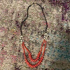 31 Bits handmade paper bead necklace